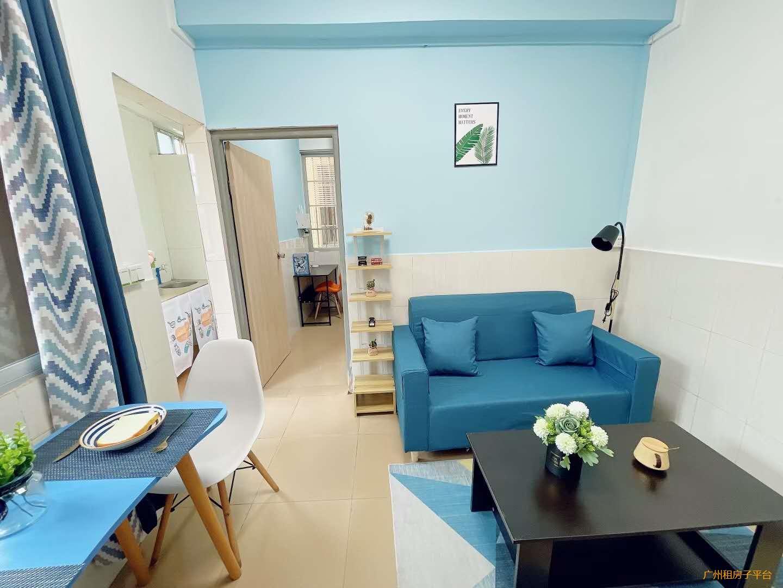 天河区5号线 车陂南东圃 特价精装一房一厅 环境采光不错