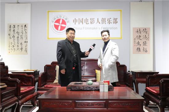 新华卫视总监高文玉与浙江杭州金